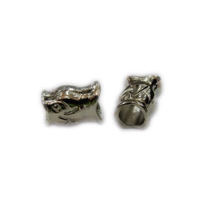 Berloque níquel peixe- BEN159