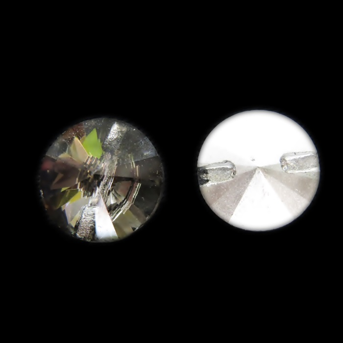Botão de cristal chinês (10 unid.)- BCC001