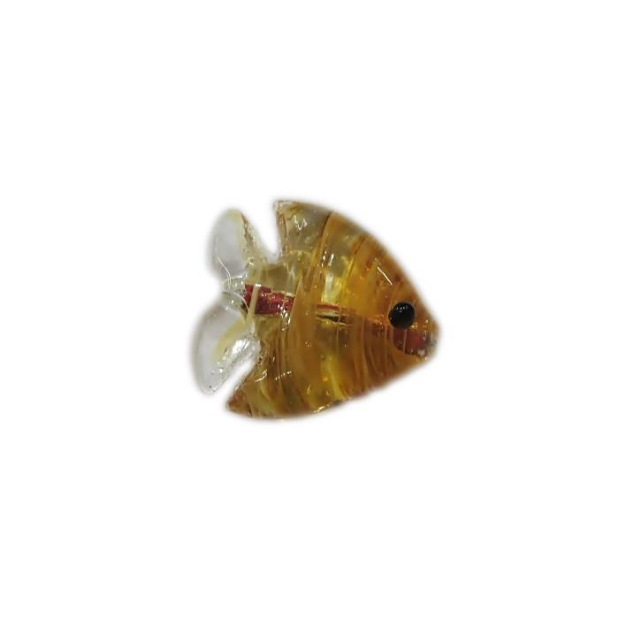 Peixe de murano ambar (10 unidades)- MU703