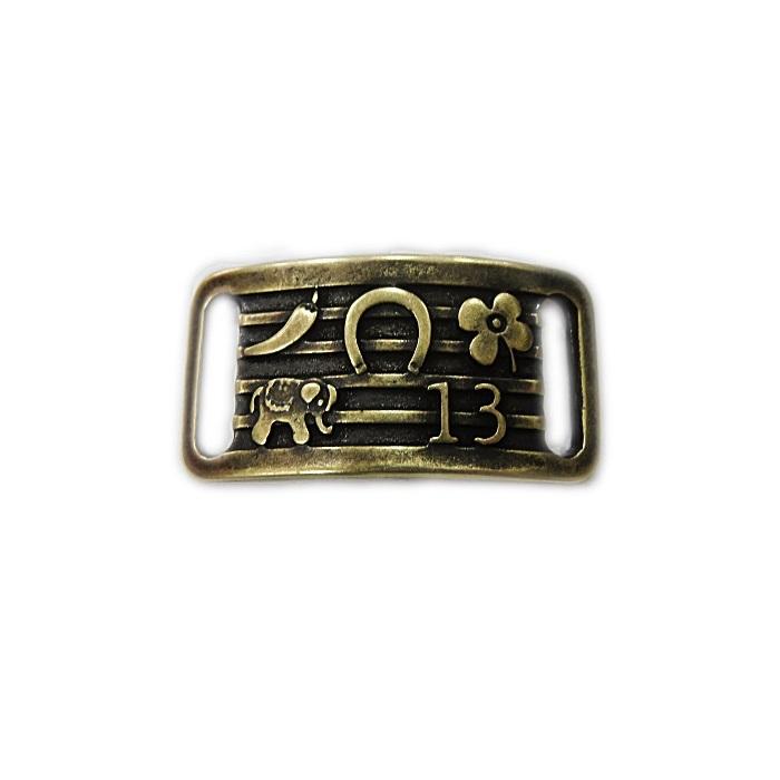 Entremeio ouro velho placa da sorte- EO072