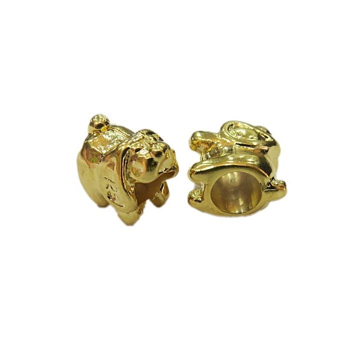 Berloque dourado Cachorro- BED090