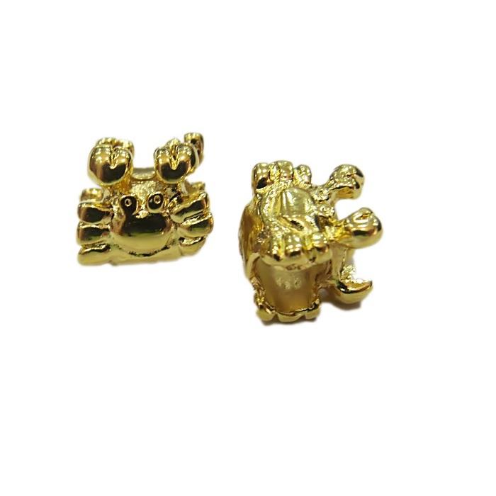 Berloque dourado carangueijo- BED092