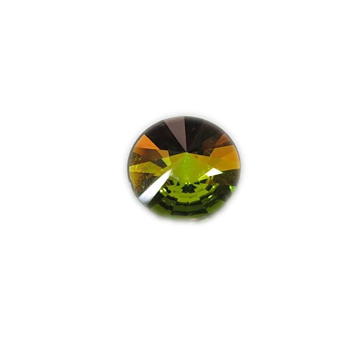 Rivoli Preciosa base reta Crystal vitral medium 10mm- RVO004