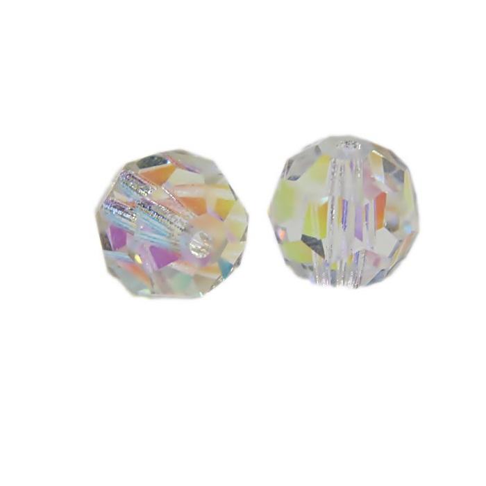 Bolinha facetada de cristal Preciosa 10mm- BPC001