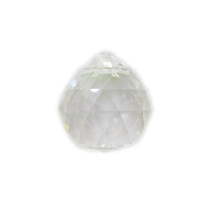 ESfera Asfour facetada cristal 30mm- CAF002