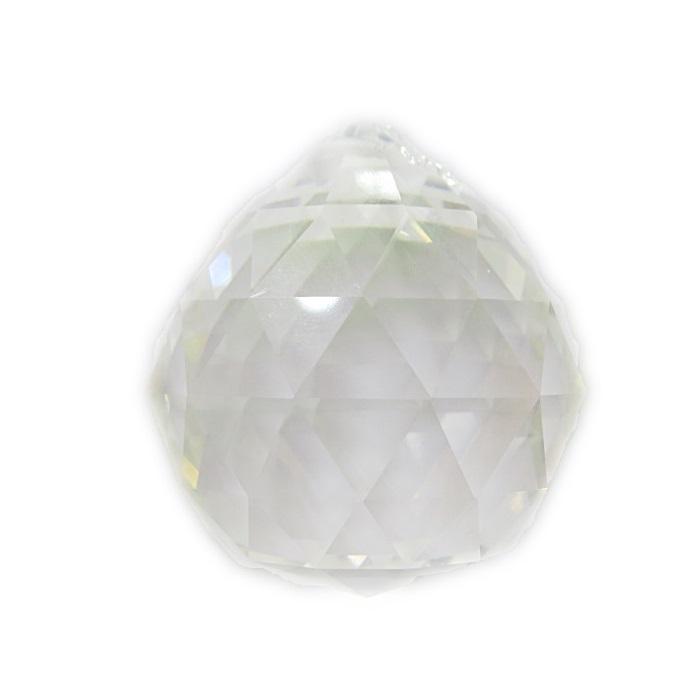 ESfera Asfour facetada cristal 40mm- CAF003