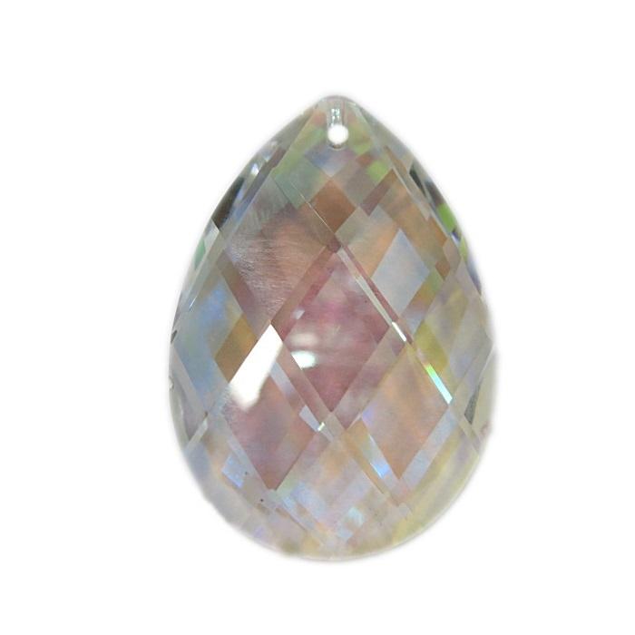 Amendoa de cristal SW AB achatada- ASW004