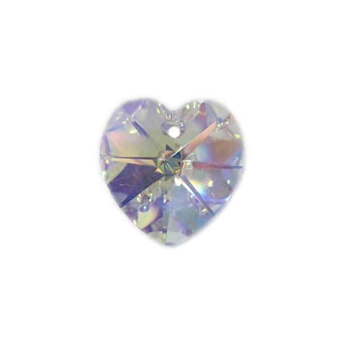 Coração de cristal Preciosa pequeno pingente- CPP002