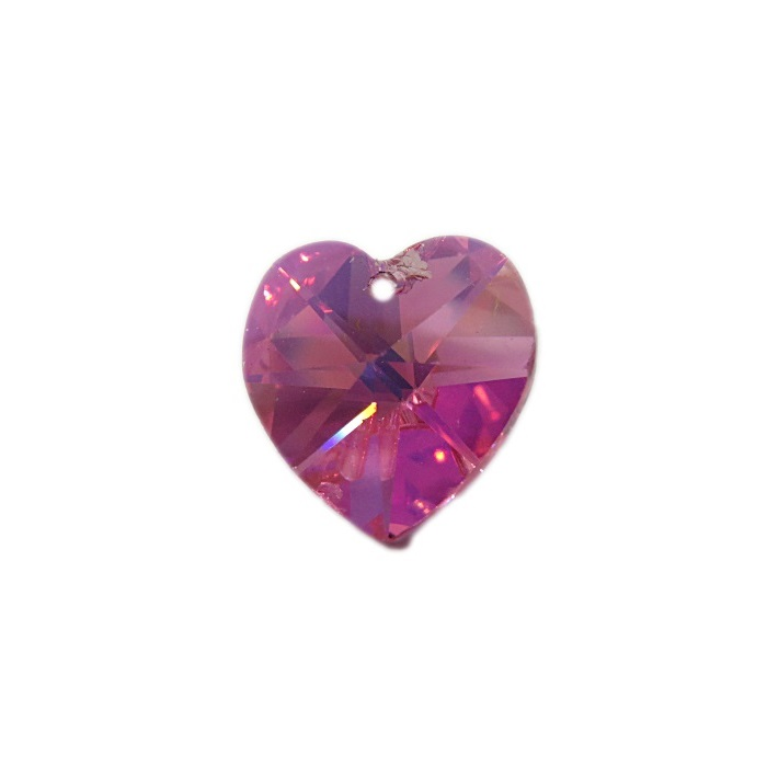 Coração de cristal Preciosa pequeno pingente- CPP003