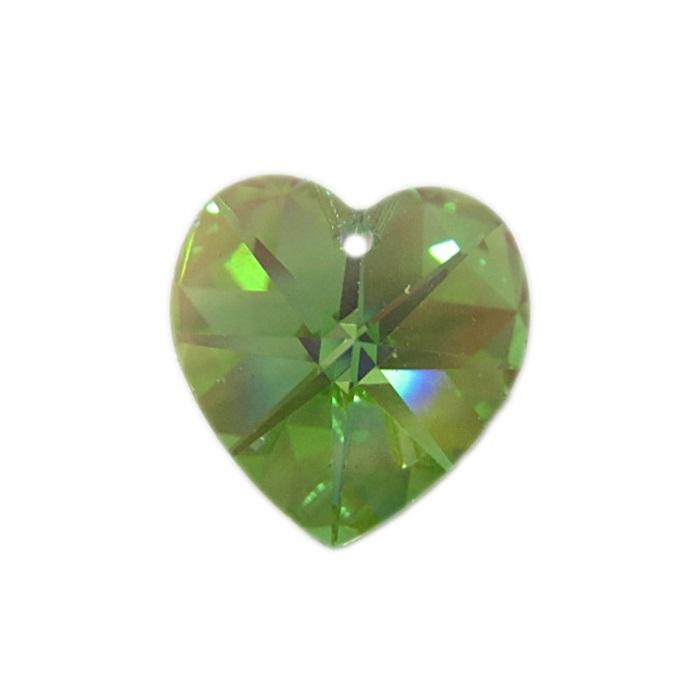 Coração de cristal Chinês grande pingente- CCP004