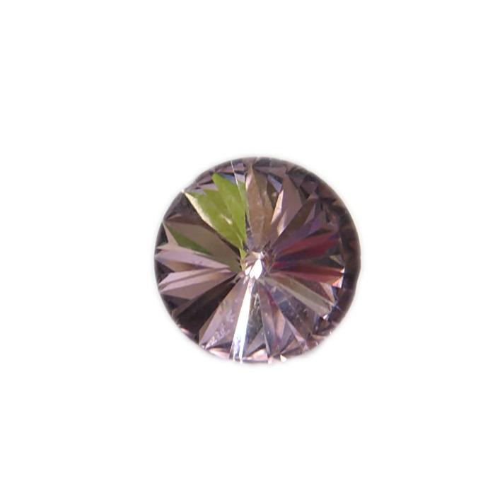 Rivoli cristal chinês sem furo light ametista- RC002