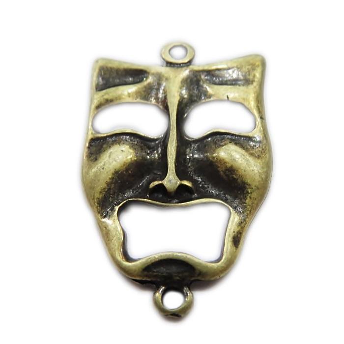 Entremeio ouro velho mascara teatro- EO074