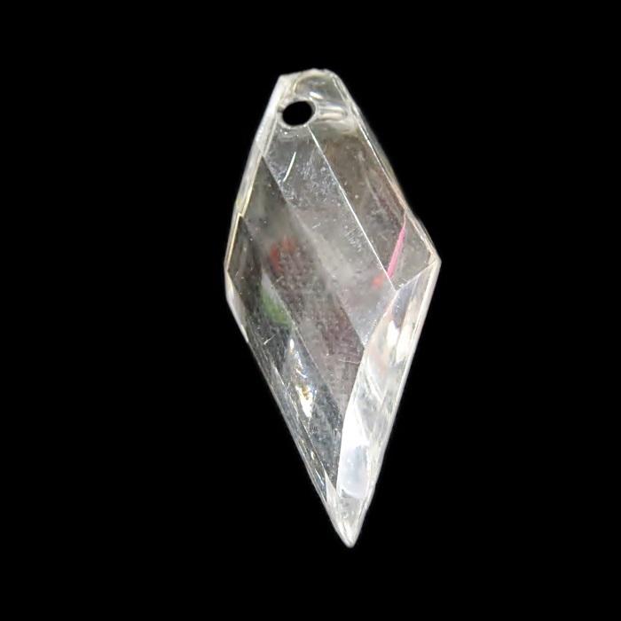 Pingente de acrilico doce de leite transparente (05 unid.)- PAC013