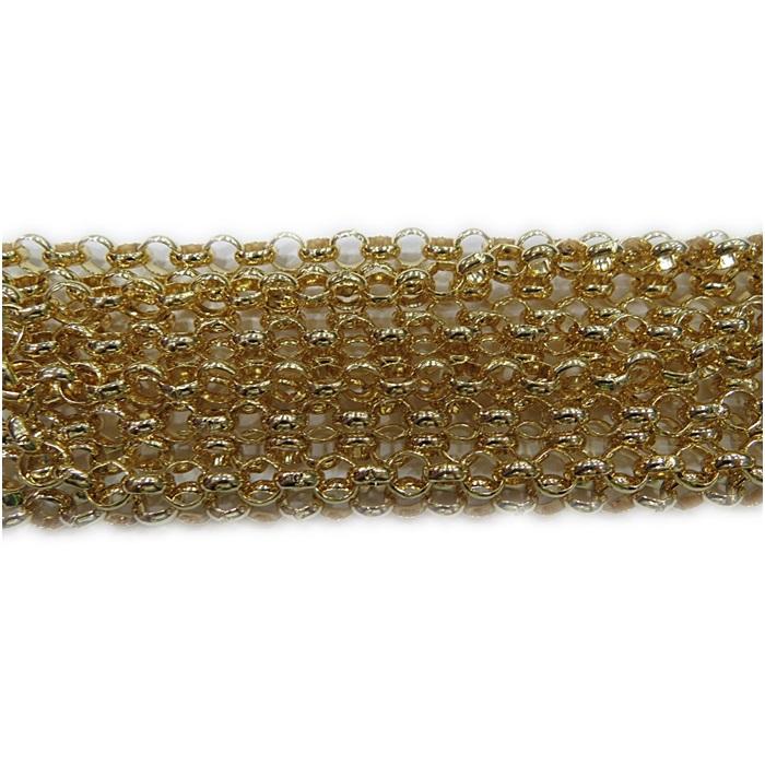 Corrente dourada Guarana G (10mts)- COD013