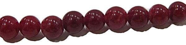 Pedra Jade Vermelho N06 mm PDN204