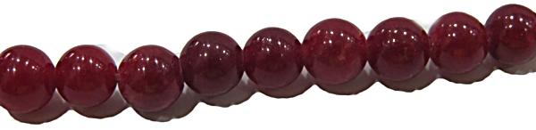 Pedra Jade Vermelho  N04 mm PDN206