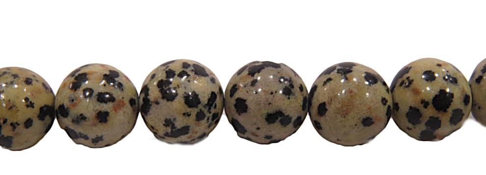 Pedra Jade Dalmata n 10mm-pdn232