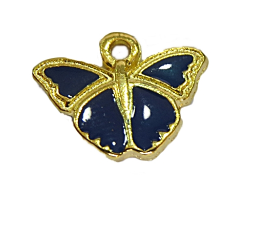 Pingente Borboleta Dourado Bic-PTD110