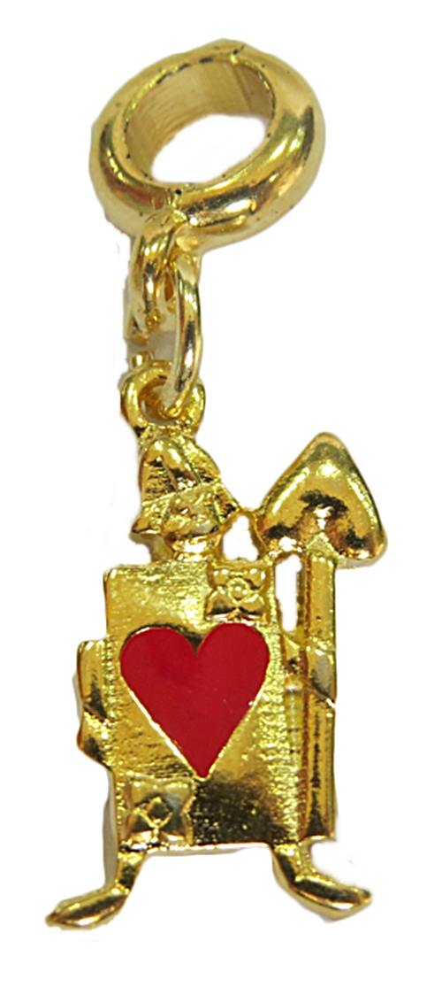 Berloque Dourado Soldadinho-BED160