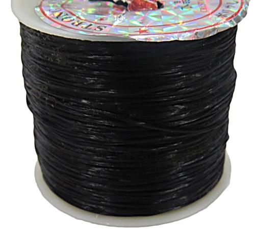 Fio de polyester rolo c/40 mts-Preto-SI013
