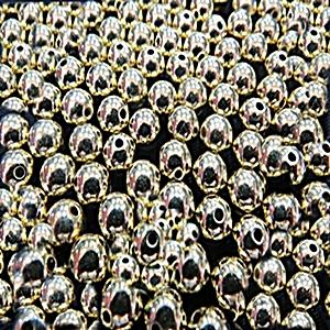 Bolinha Abs Dourada N° 03,04,06,08,10e12  (25gramas) -BA004