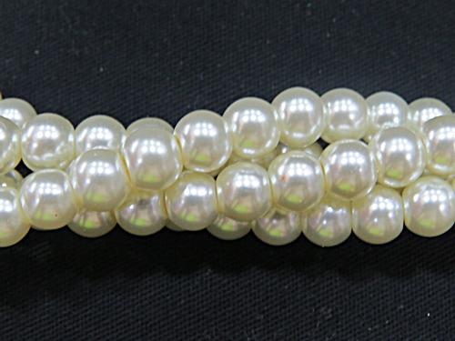 Fio Perola de Vidro N04 -CHAMPAGNE-BVC011