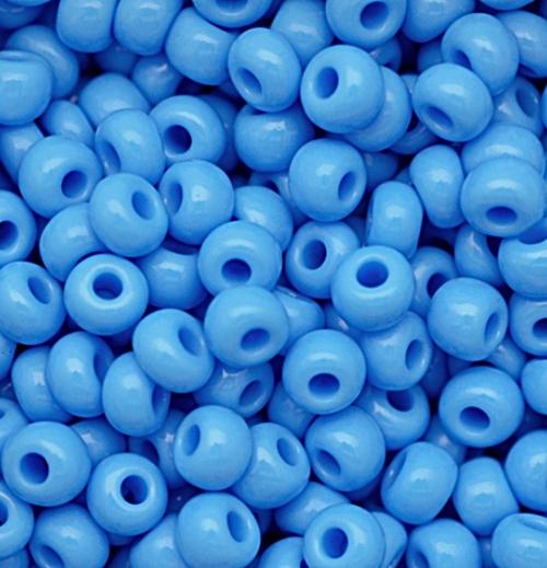 Miçanga Jablonex Azul Clara -5/0- (500 gramas) atacado miç054