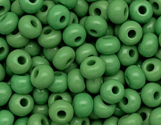 Miçanga Jablonex Verde-5/0-  (500 gramas) atacado miç055