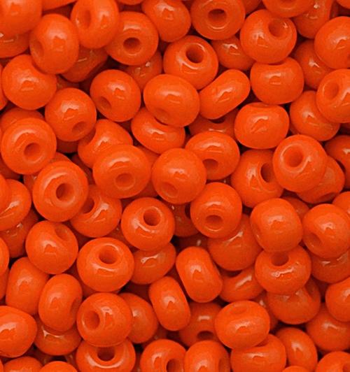 Miçanga Jablonex laranja-5/0- (25 gramas )miç074