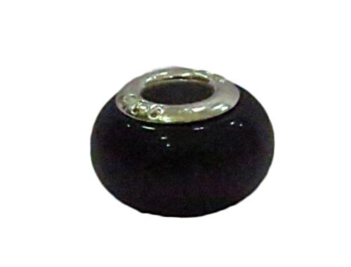 Berloque Niquel Pedra Olho de  gato -ben600