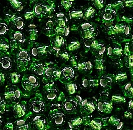 Miçanguinha Jablonex Verde Metalizado-9/0-(Atacado e Varejo) - MIP67