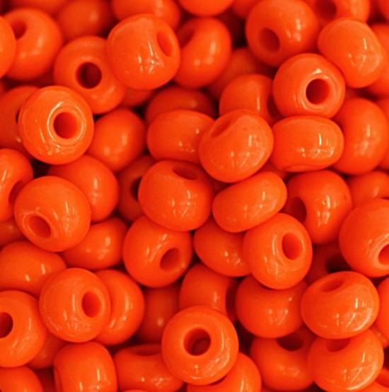 Miçanga Jablonex laranja-2/0 Cangicão -(500 gramas)-miçp001