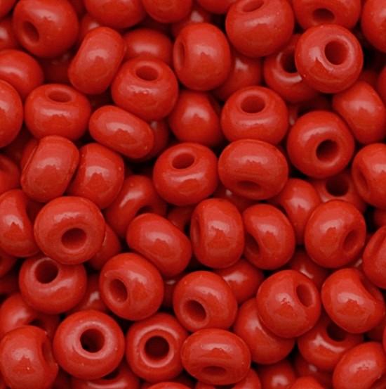 miçanga jablonex vermelha-2/0 canjicão-(500 gramas)-miçp002