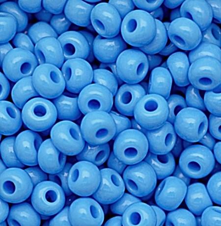 miçanga jablonex Azul Claro -2/0 Canjicão - (25 gramas)-miçp003
