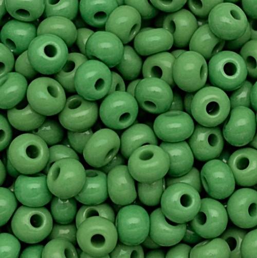 miçanga jablonex Verde (25 gramas)-2/0 Canjicão - miçp007