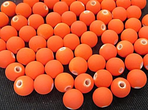 Bolinha Emborrachada Nº 08-laranja -(200grs)- atacado-BF005