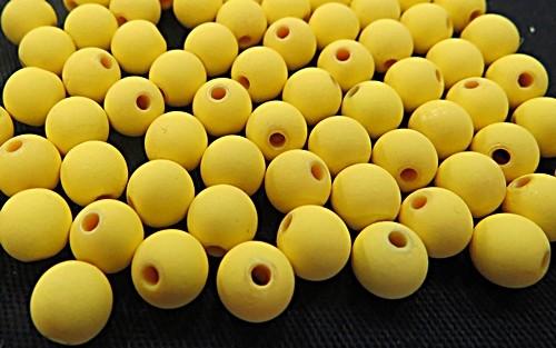 Bolinha Emborrachada Nº 08-Amarelo -(200grs)- atacado-BF006