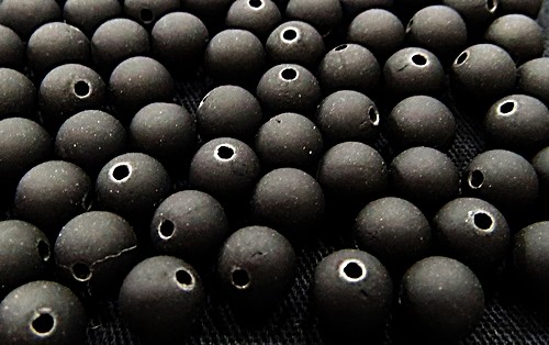 Bolinha Emborrachada Nº 06-preto -(25grs)-BF011