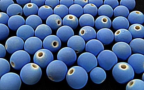 Bolinha Emborrachada Nº 08-Azul medio-(25grs)-BF017