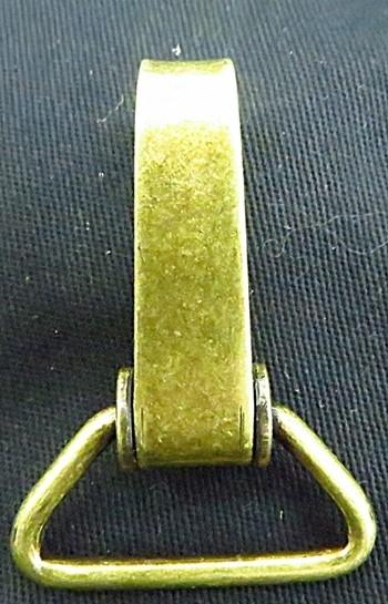Mosquetão ouro velho grande-02 peças-MO009