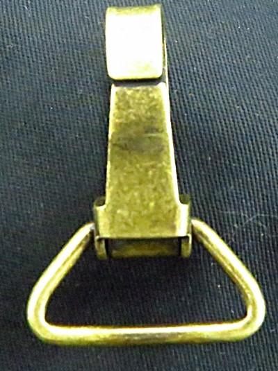 Mosquetão ouro velho grande-100 peças-MO009