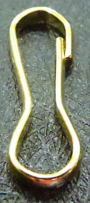 Fecho gancho dourado-10pçs-md008