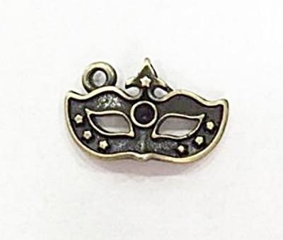 Pingente ouro velho mascara-10 peças-PTO130