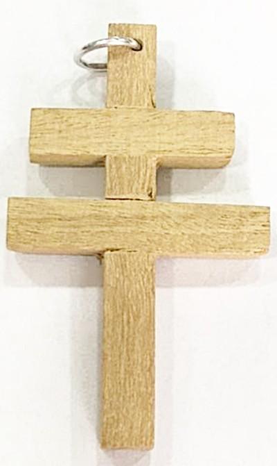 Cruz madeira DUPLA-CR004