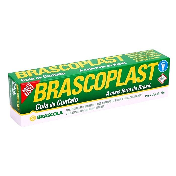 Cola Brascoplast Contato- CL006