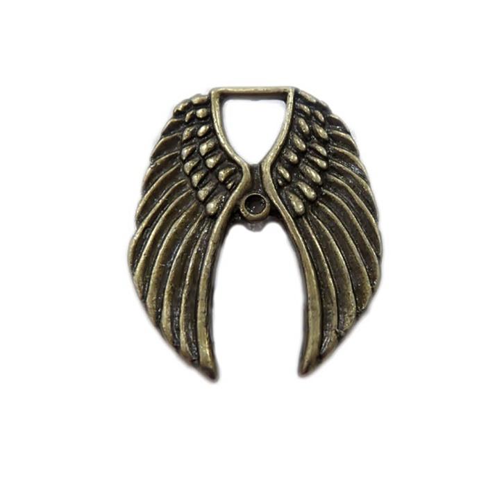 Pingente Asa I ouro velho- PTO012