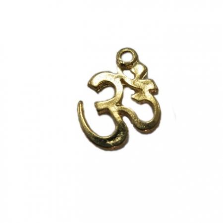Pingente Simbolo OM dourado P - PTD039