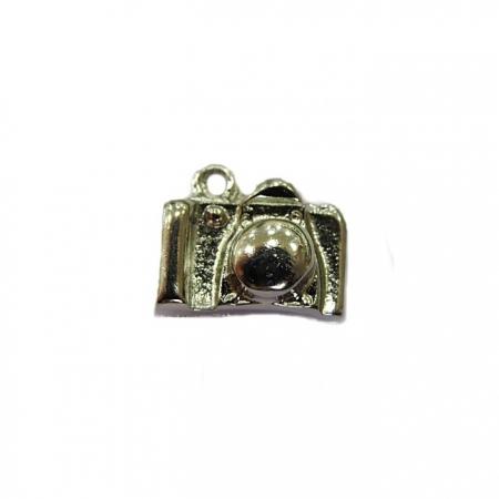 Pingente Máquina fotografica níquel- PTN024