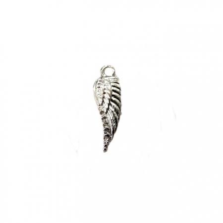 Pingente Asa pequena níquel (10 unidades)- PTN044