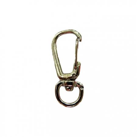 Mosquetão níquel IV (2 unidades)- MN004